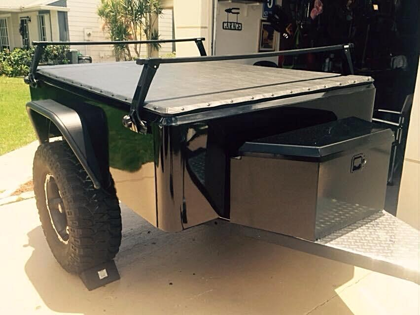 Sized For Our Dinoot Trailers Special Order Custom Sized Available Waterproof Cover Easy Snap Channel For Quick Removab Tonneau Cover Cover Trailer