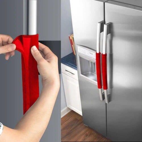 Refrigerator Handle Covers Fridge Handle Covers Cleaning Appliances Door Handles