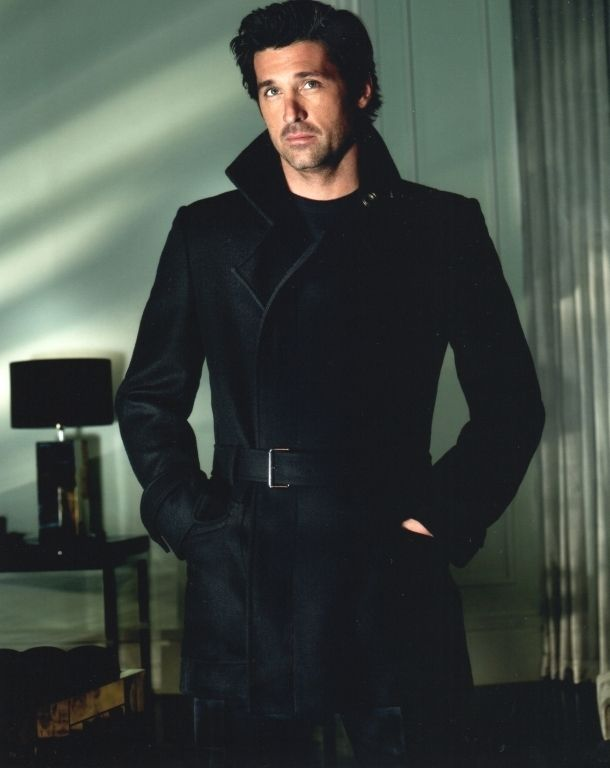 Well, hey there Patrick Dempsey... looking pretty hot!