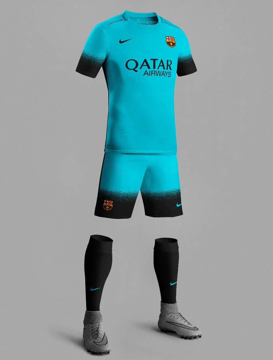 Nike 15-16 Third Kit Inspired Football Kits  1b13bb80153
