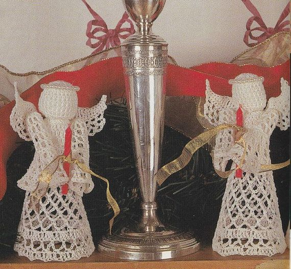 Little Angel Crochet Pattern  Holding Candle by PaperButtercup, $2.99