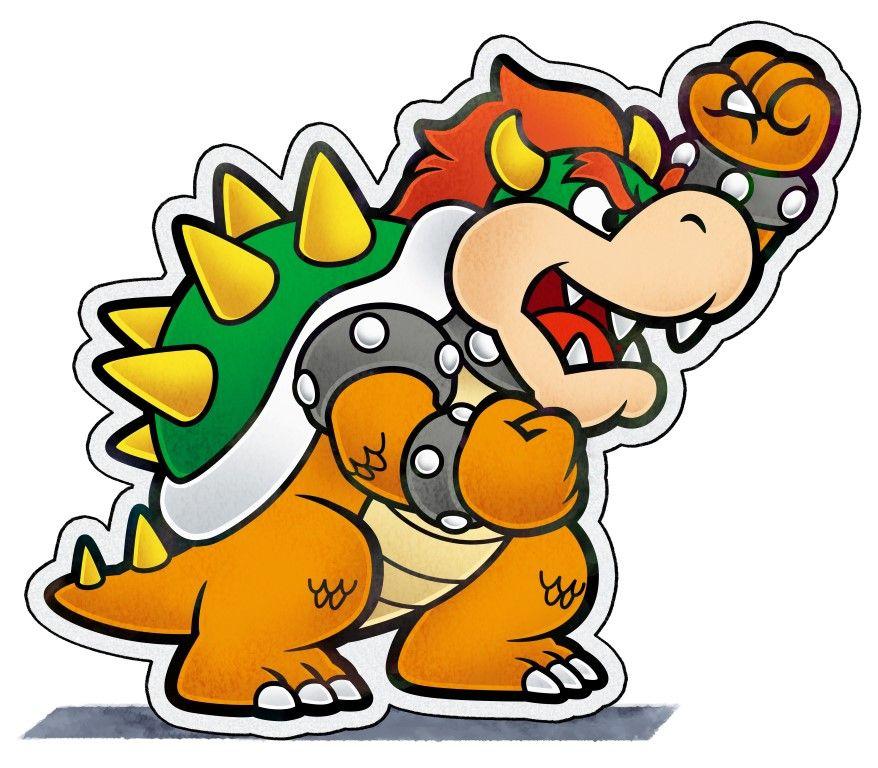 Paper Bowser Mario Amp Luigi Paper Jam Bros Mario And