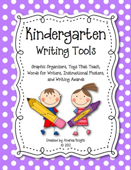 Kindergarten Writing Tools | KindergartenKlub com | Teaching