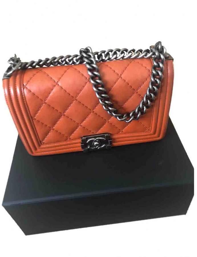 dc0378bdf3de Boy leather bag in 2019 | Bags | Leather handbags, Chanel shoulder ...