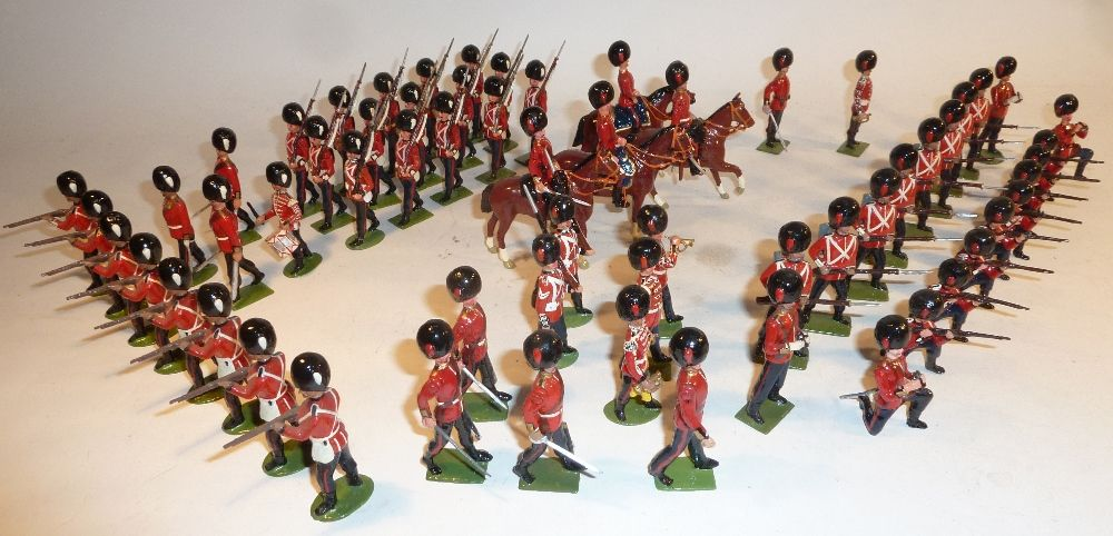 Lot 289 Britains neatly repainted or converted British
