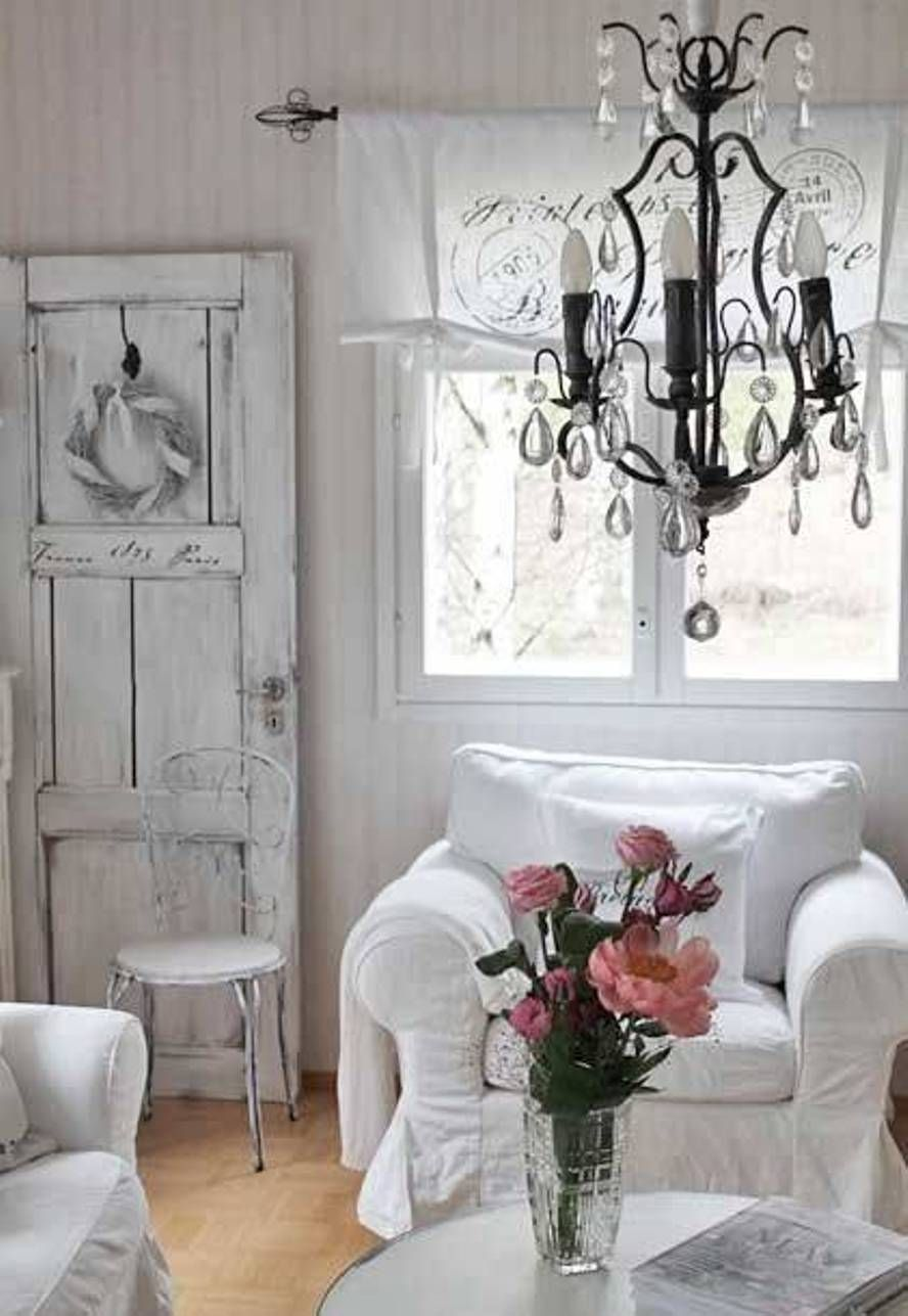 Living Room , Shabby Chic Style For Living Room : Shabby Chic Style ...