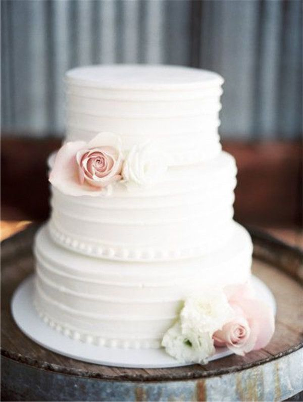 40 Elegant And Simple White Wedding Cakes Ideas Weddinginclude Simple Wedding Cake Wedding Cake Designs Simple Trendy Wedding Invitations