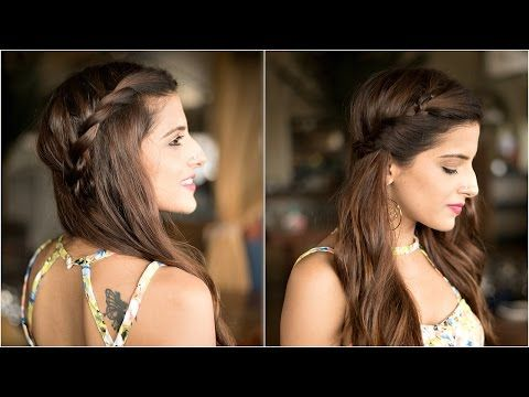3 Indian Party Hairstyles Easy Hairstyles For Medium To Long Hair Eid Hairstyles Youtube Hairstyles For School Easy Hairstyles Hair Tutorials Easy