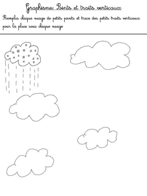 graphisme pluie la pluie pinterest fiche maternelle a imprimer maternelle et fiche maternelle. Black Bedroom Furniture Sets. Home Design Ideas