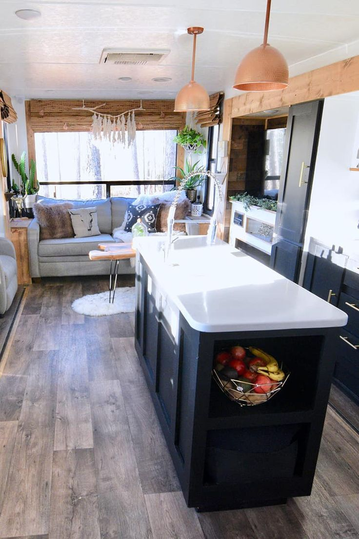 Photo of Tour this travel trailer renovated with Southwestern vibes!