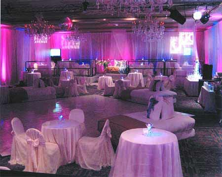 Sweet 16 Club Theme Party