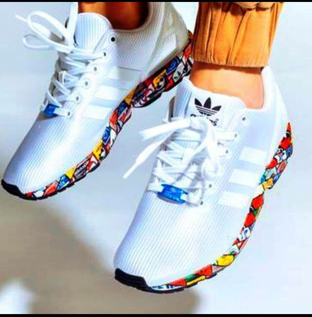 Adidas ZX Flux Prism Sole I so want these!