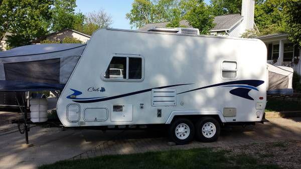 2000 Aerolite Cub Hybrid Camper $5500 | Camp! | Hybrid camper