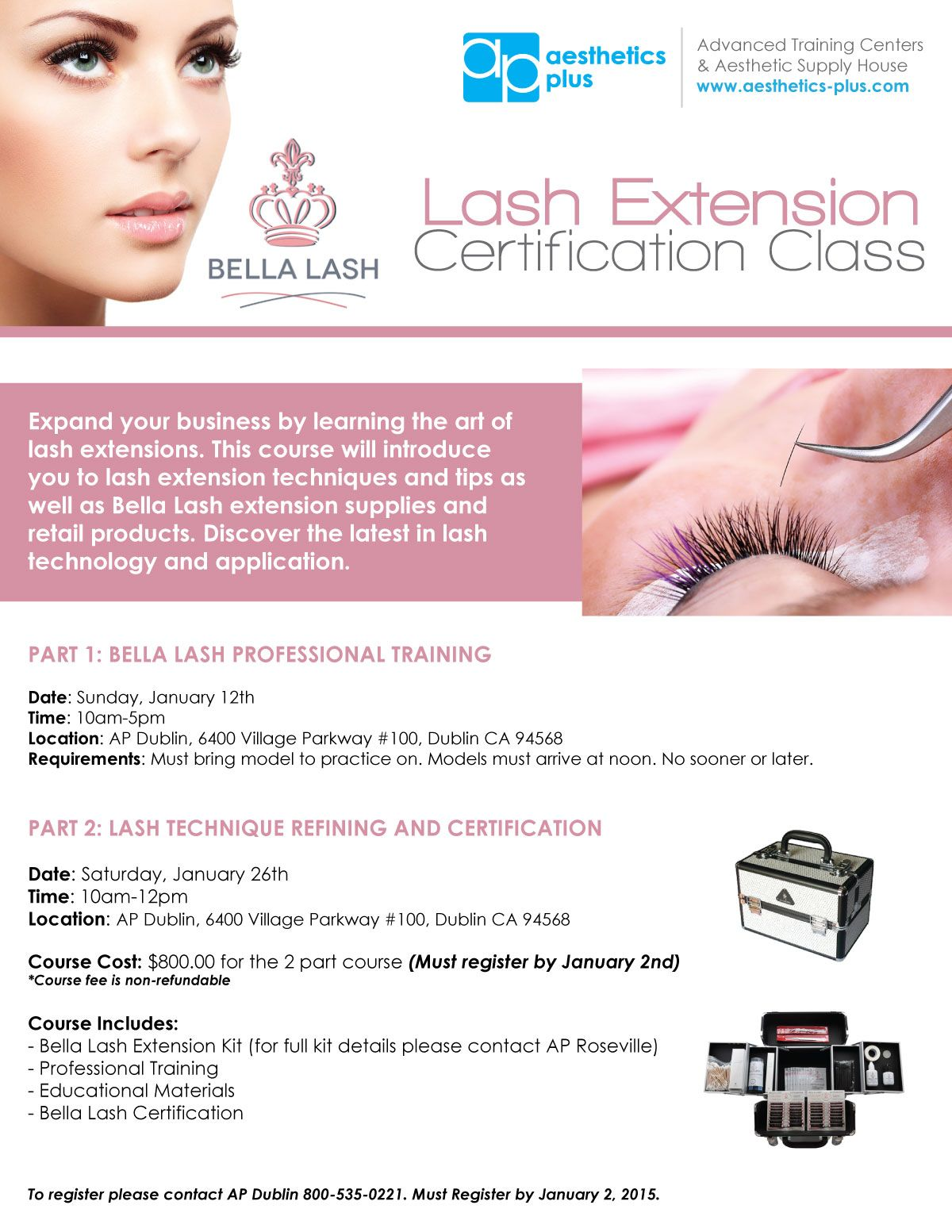 Come learn the art of lash extensions at our Lash Extension ...