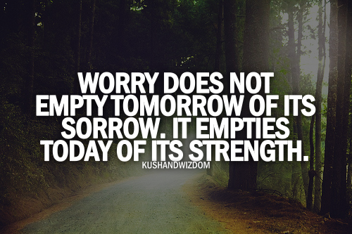 """truth to """"don't worry, be happy"""""""