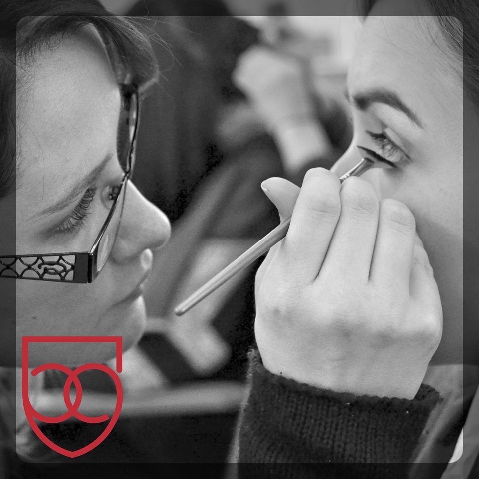 BellusAcademy behindthescenes in our Makeup Artistry