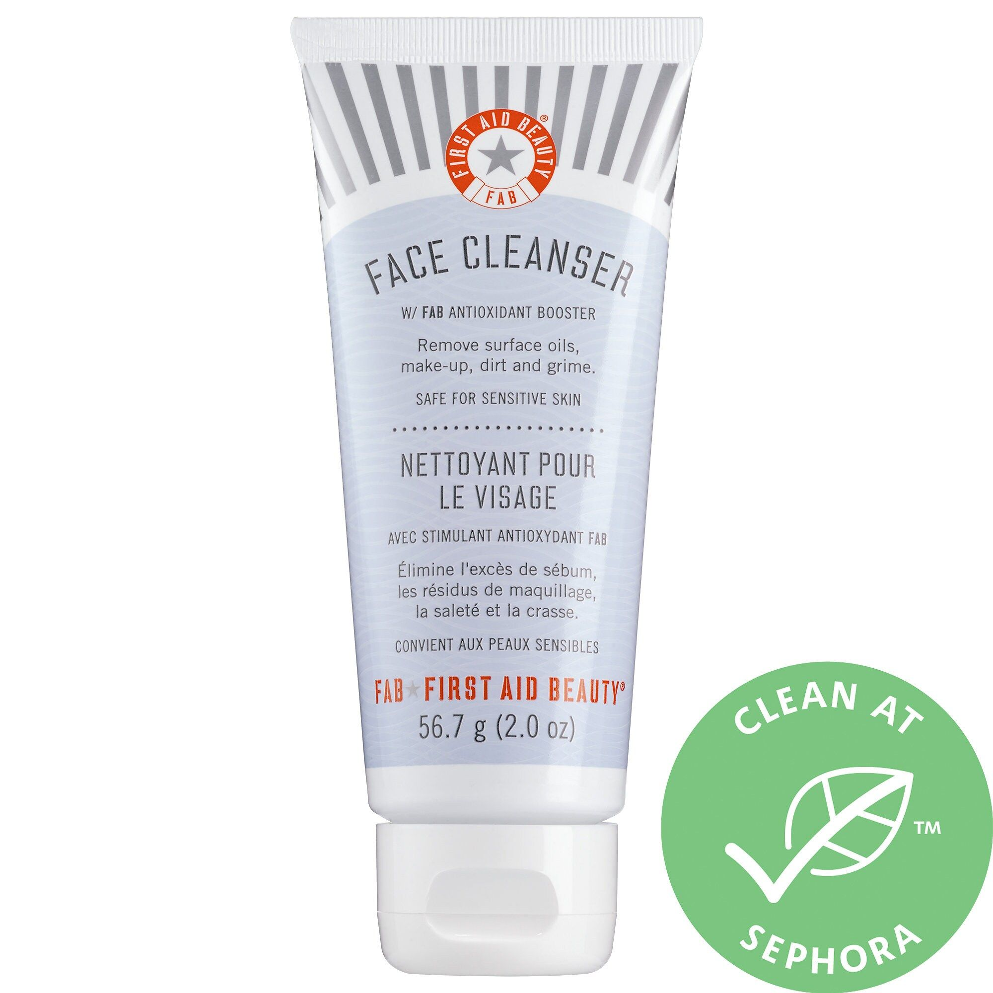 Pure Skin Face Cleanser First Aid Beauty Sephora First Aid Beauty Repair Cream Soothing Moisturizer