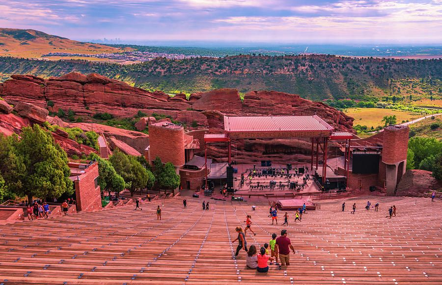 Wall Art Photograph Red Rocks Amphitheatre I By Steven Ainsworth Affiliate Affiliate Affiliate Photogr In 2020 Red Rock Amphitheatre Ainsworth Amphitheater