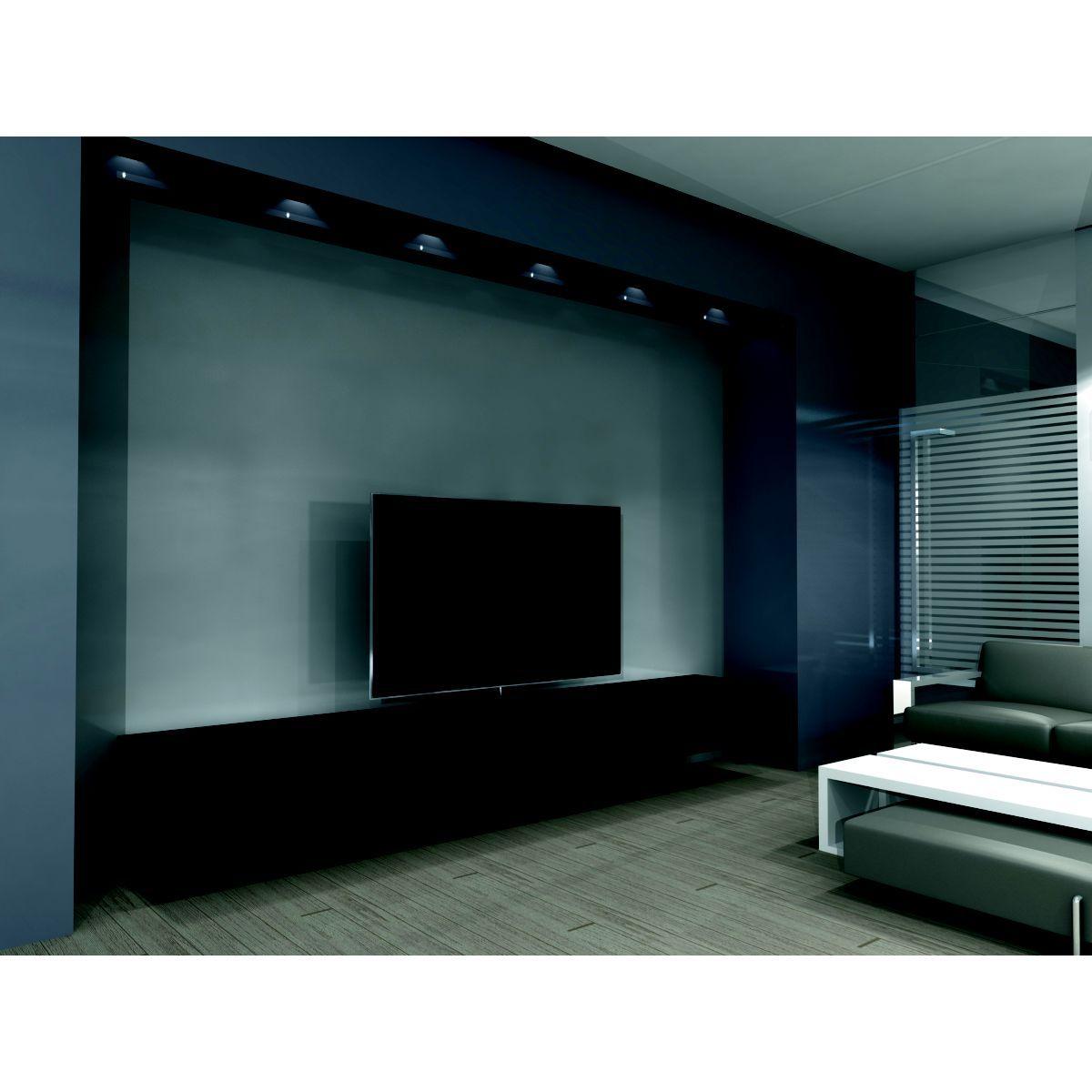 Meuble Tv Khalm Noir 1ml Taille Taille Unique Meuble Tv Et