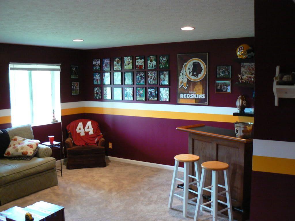 Lets See Your Redskins Room Home Redskins Football Man
