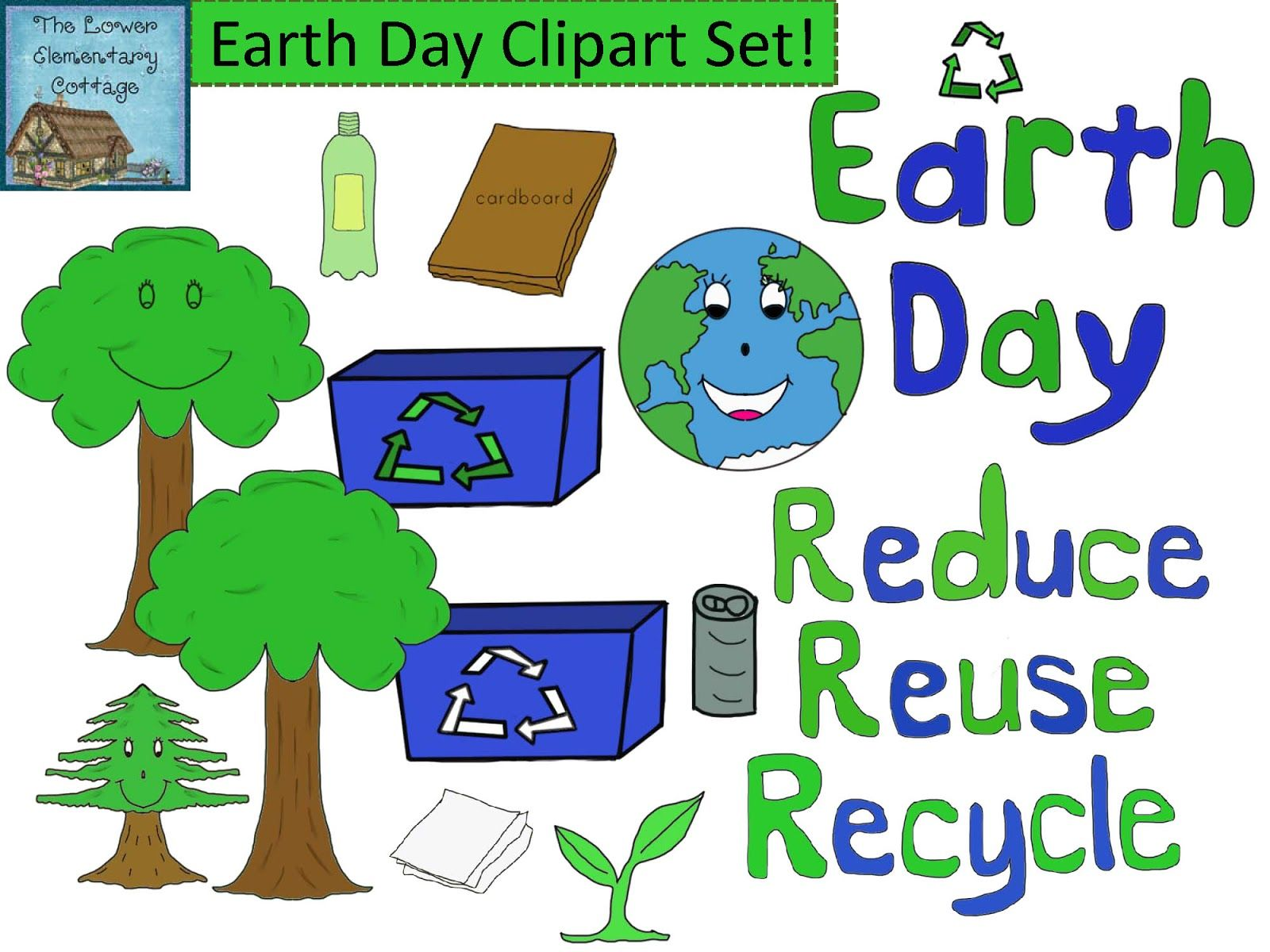 New Earth Day Clipart Giveaway Reminder