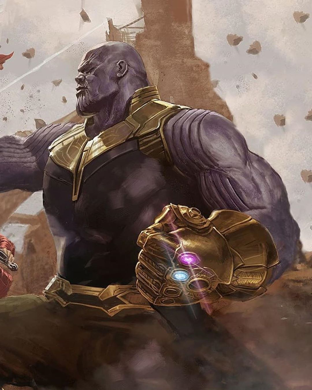 Dont the avengers have to defeat Thanos? Its the last ...