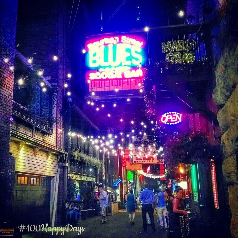 Printer's Alley in Nashville, TN
