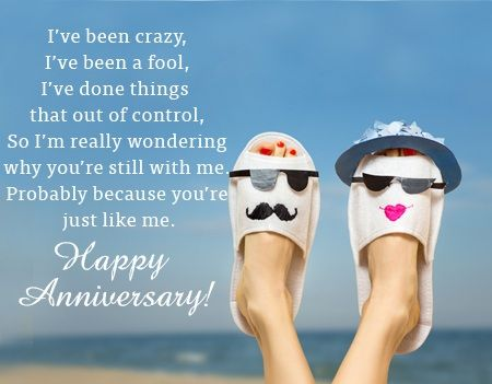Funny anniversary quotes anniversary wishes blessings
