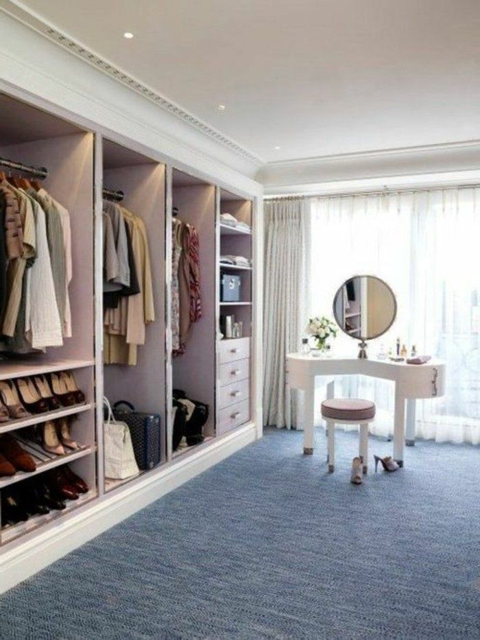 1001 Ideen Fur Offener Kleiderschrank Tolle Wohnideen Dream Dressing Room Bedroom Closet Design Bedroom Organization Closet