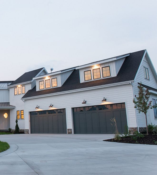 Downpipe By Farrow And Ball Garage Door Color Sierra Pacific