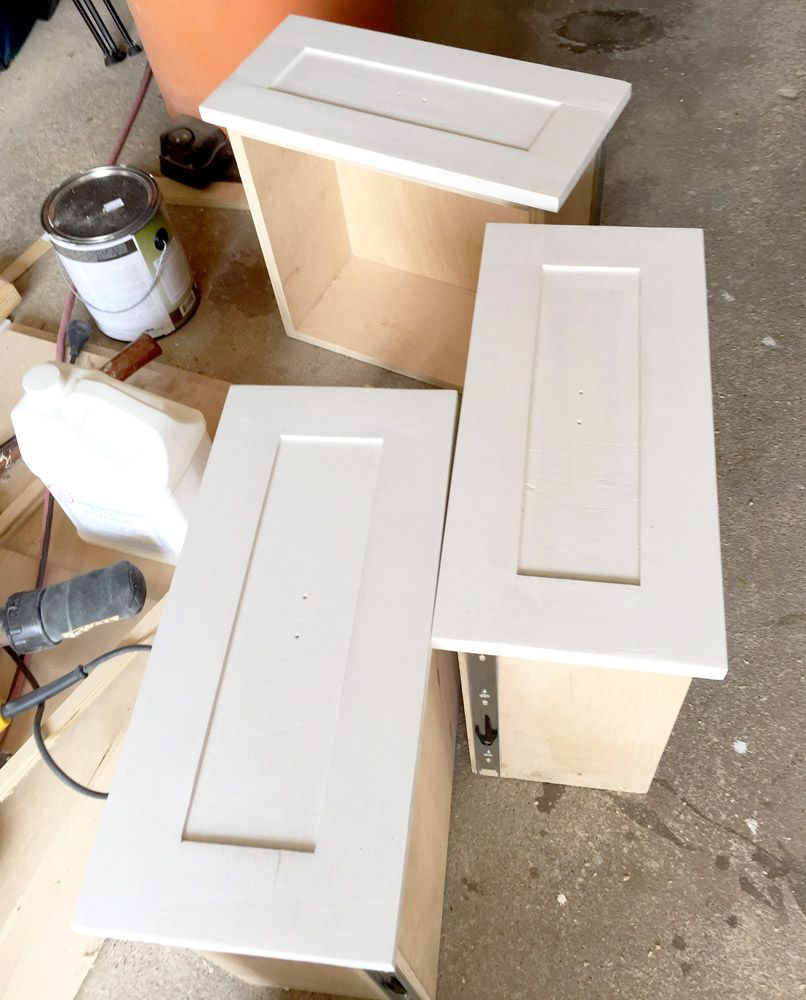 Looking To Save Money While Diying Build Your Own Drawers And Drawer Fronts With This Simple Tutorial These Rais Diy Cabinet Doors Diy Cupboards Diy Cabinets