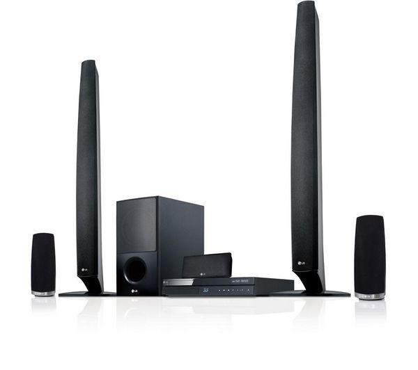 Lg multiregion dvd home theatre system model ht356