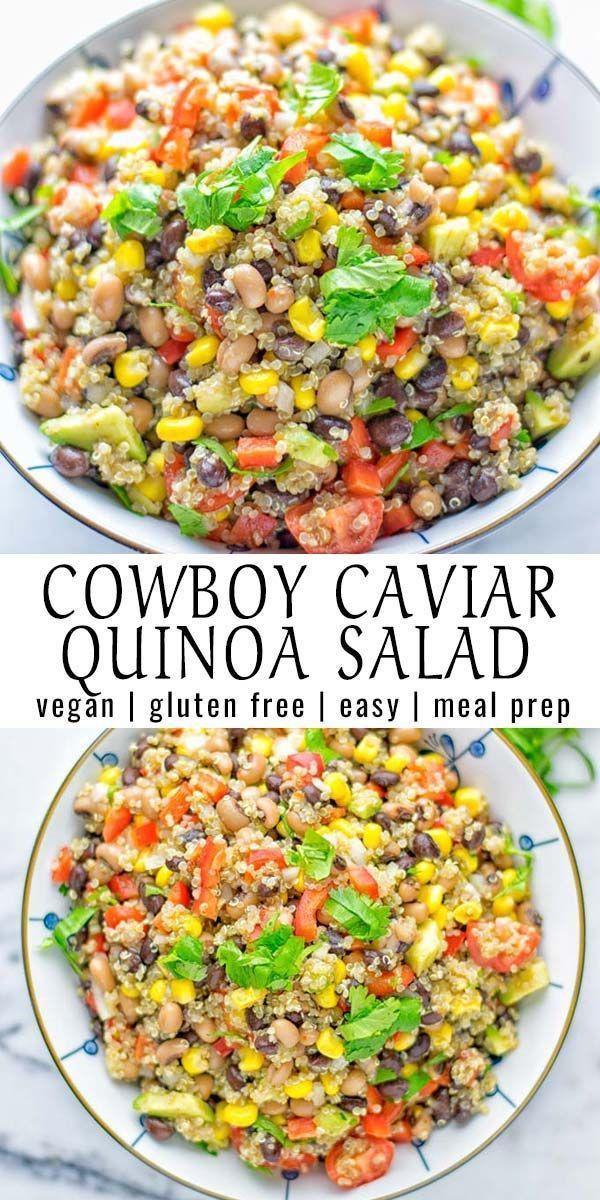 Cowboy Caviar Quinoa Salad - Contentedness Cooking