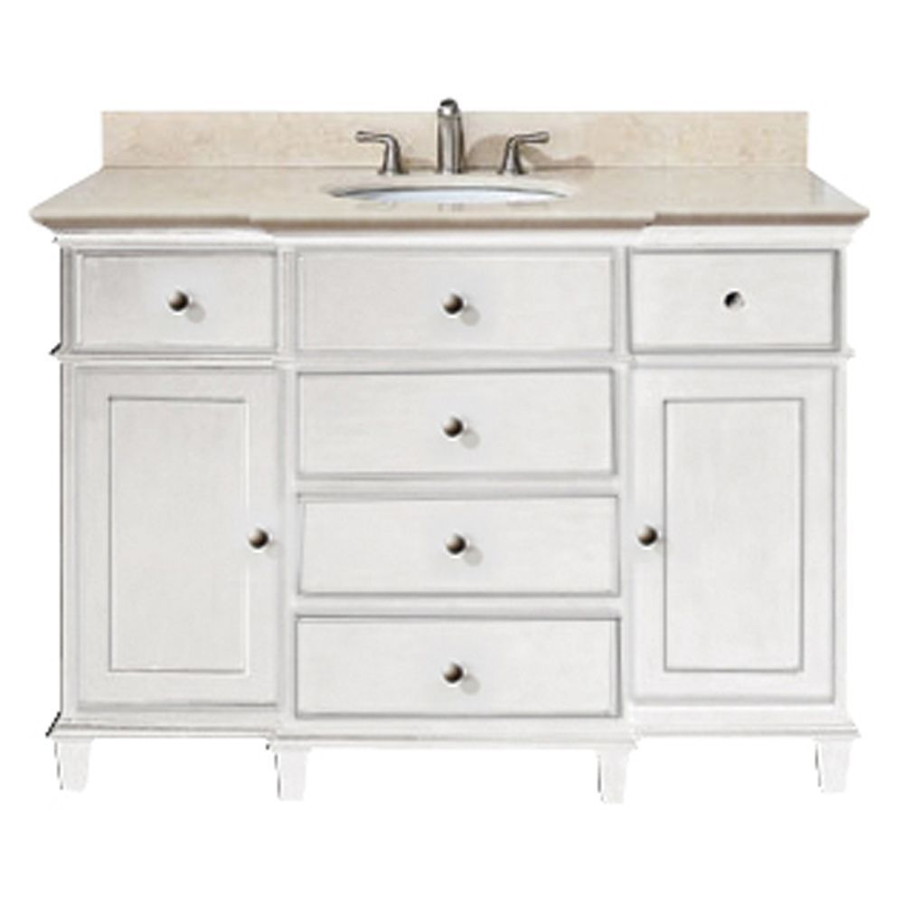 42 inch white bathroom vanity - 42 Inch Bathroom Vanity