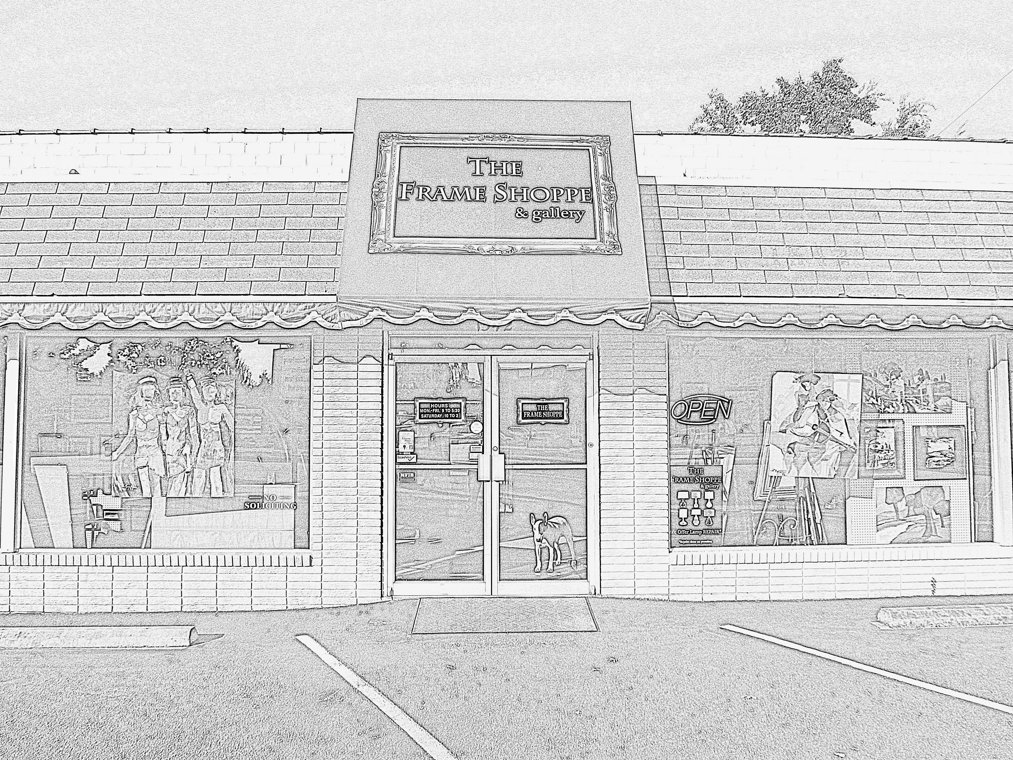 The Frame Shoppe & gallery (frameshoppe) on Pinterest