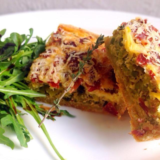 レシピとお料理がひらめくSnapDish - 131件のもぐもぐ - Leek & Bacon Quiche by Missty