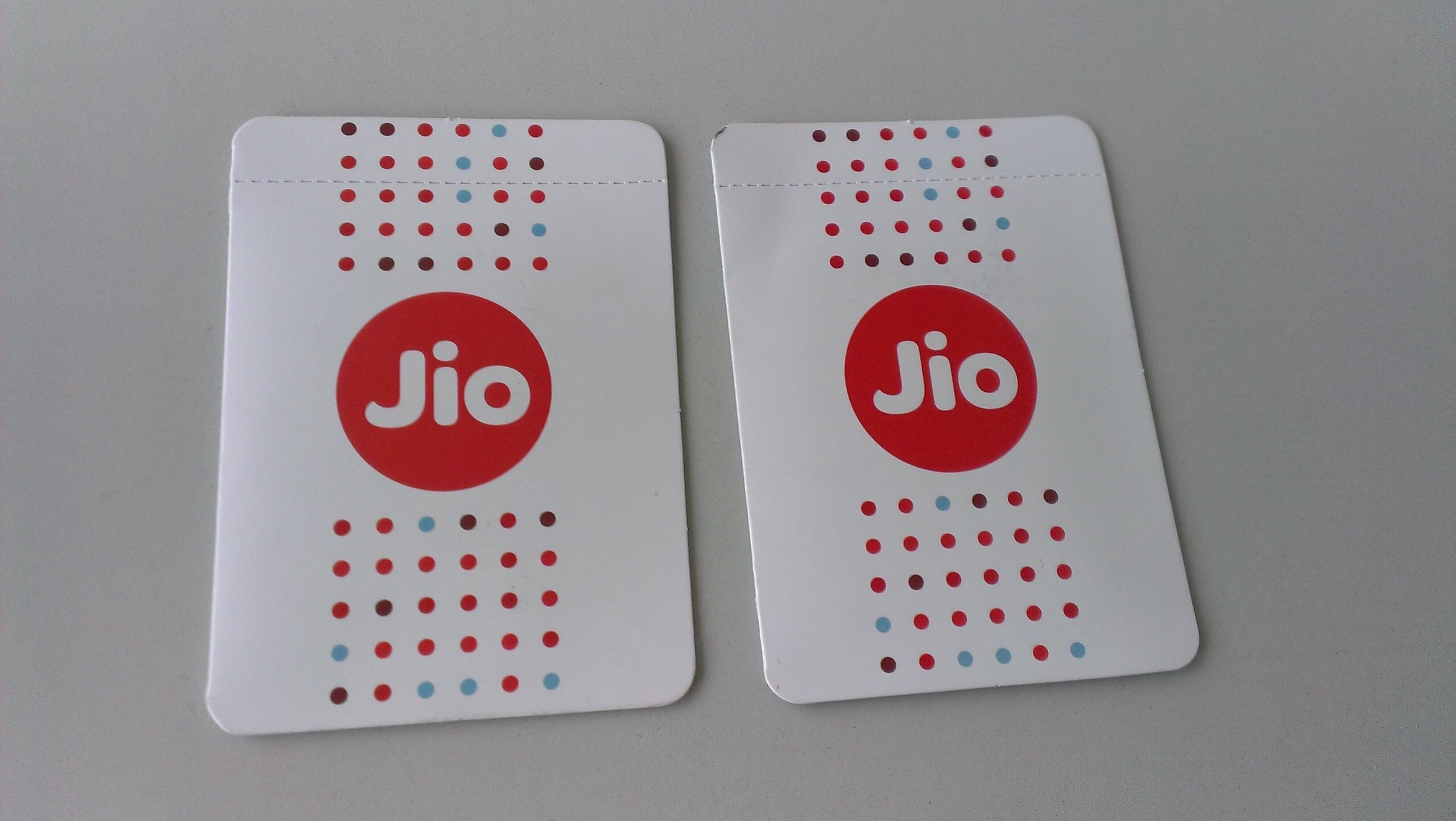 Guidelines for getting reliance jio free sim card sim