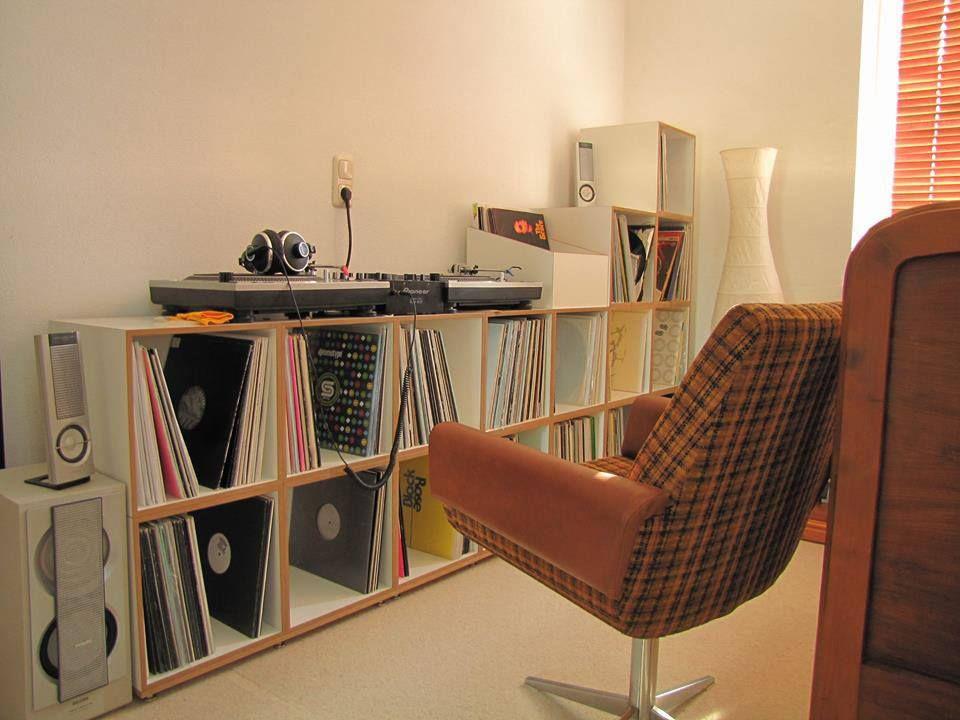 Modulares Regalsystem - Made in Germany. Schallplatten, Möbel, Regal ...