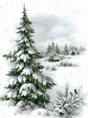 Schnee 4 Christmas Paintings Winter Painting Christmas Watercolor