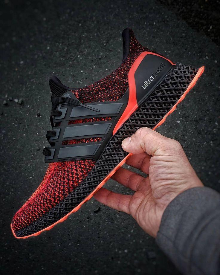 Adidas Ultra Runner 4d Solar Red Sneakers Com Imagens Tenis Adidas Masculino Sneakers Tenis Branco Masculino