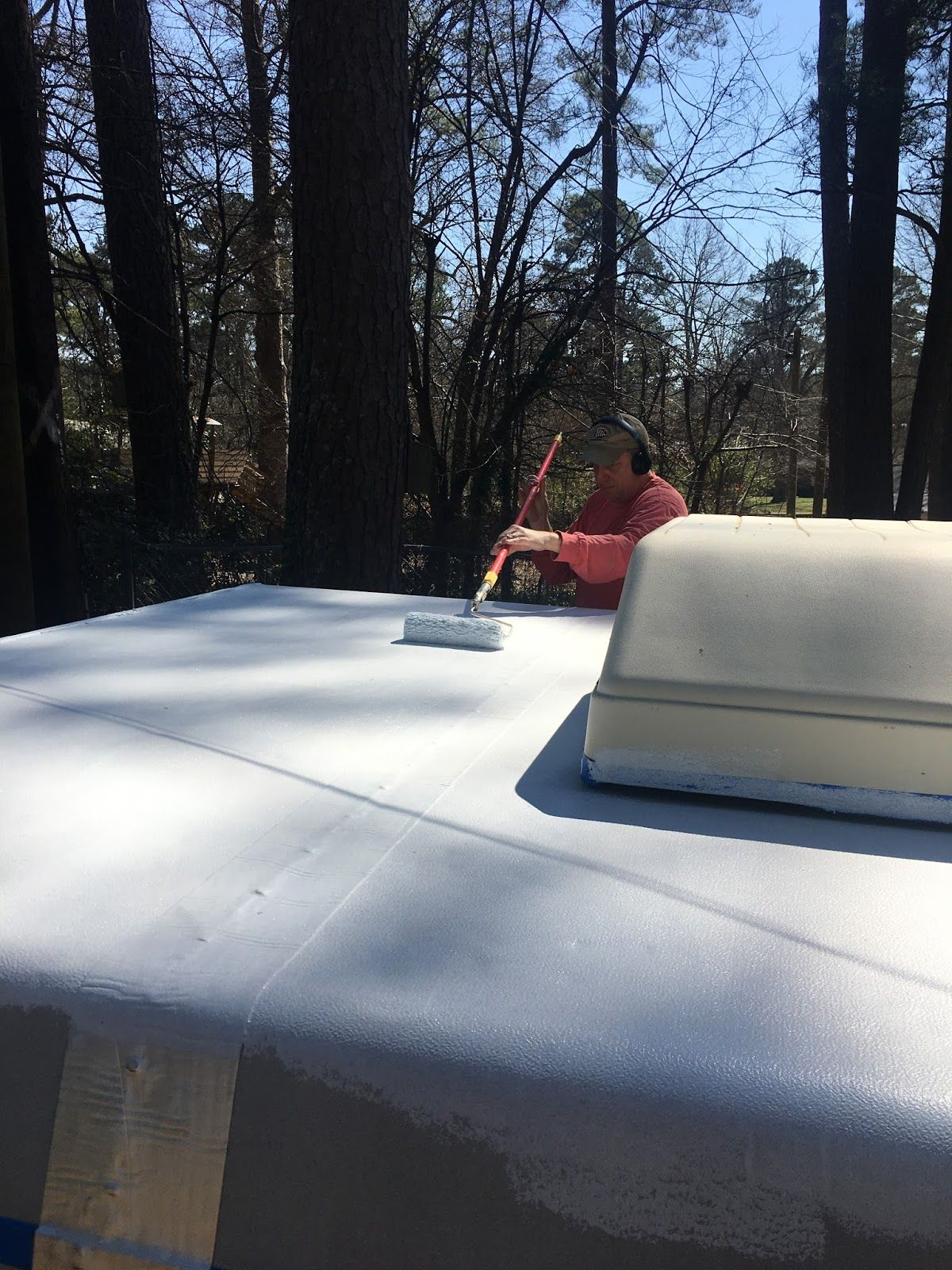 Fixing pop up camper leaks how to do it yourself rv camp fixing a pop up camper roof that is leaking can be done as a diy project solutioingenieria Choice Image