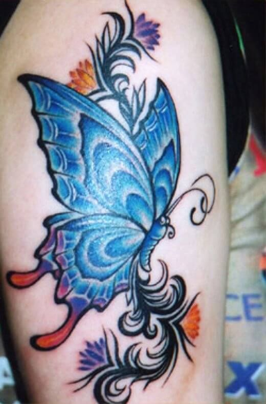 Arm Butterfly Tattoo Designs With Images Butterfly Tattoos On