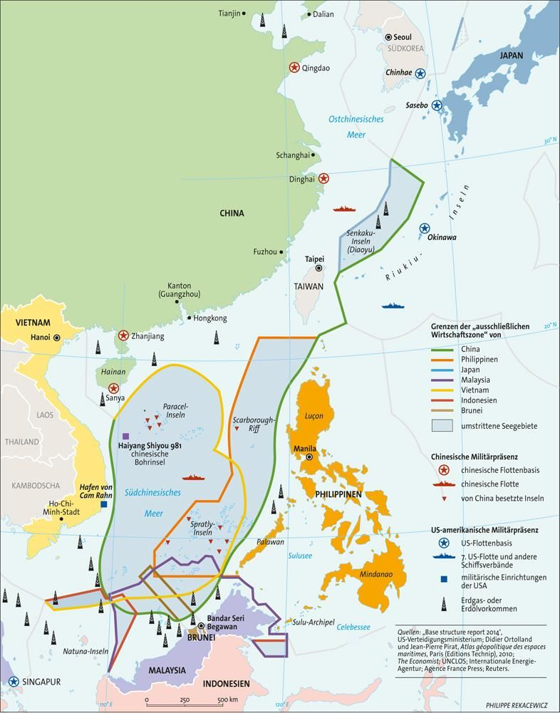 Offshore oil prosection, South Chinese Sea | International Political