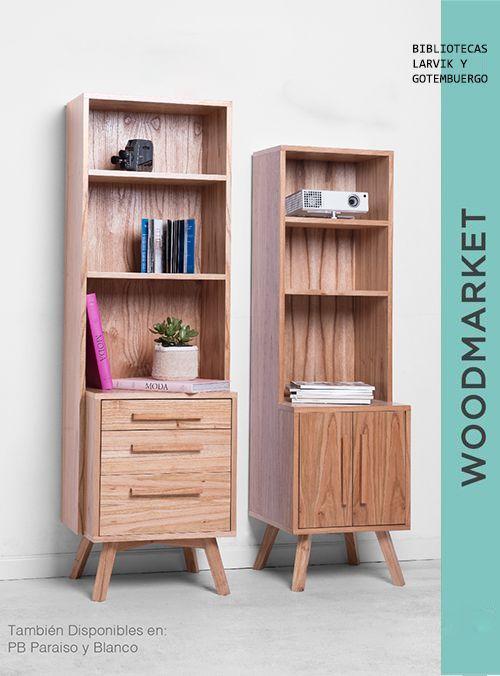 Wood market nordic furniture pinterest - Muebles laminados ...