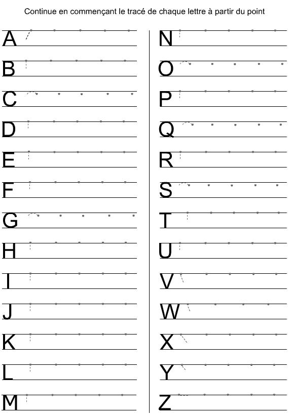 Majuscules D Imprimerie A Imprimer Apprendre L Alphabet Alphabet Imprimable Ecrite Prescolaire