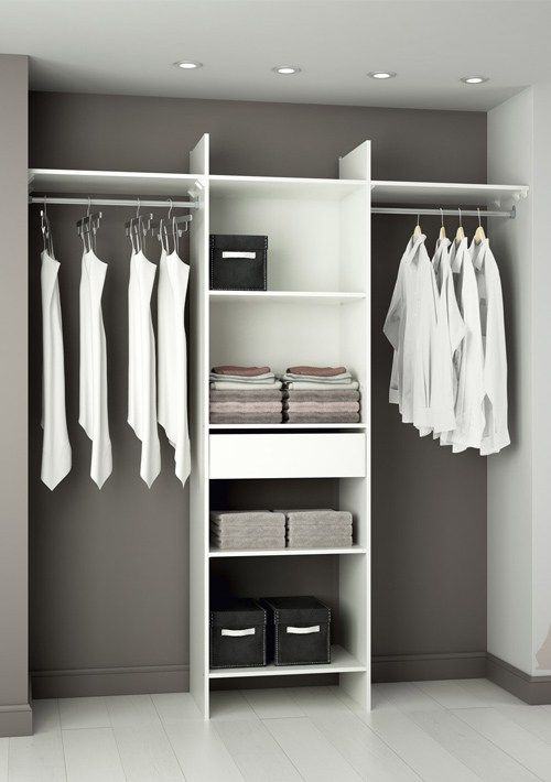 d co des id es pour emm nager un dressing dans une. Black Bedroom Furniture Sets. Home Design Ideas