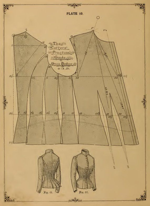 36 Victorian DRESS Outfit SEWING PATTERNS ~ Vests, Jackets Design Your Own Theatre Costumes 133 Pgs Printable or Read on Your iPad or Tablet #victorian
