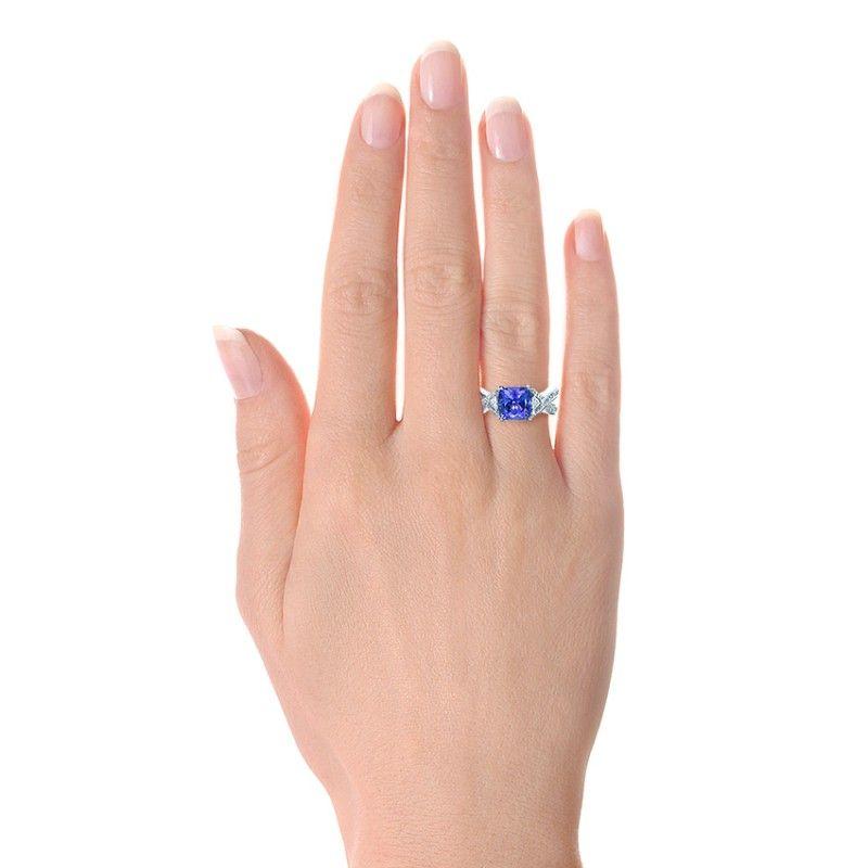 Beautiful tanzanite engagement rings Tanzanite Engagement Rings