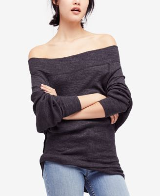 ea4544078f1f4 FREE PEOPLE Free People Palisades Off-The-Shoulder Sweater.  freepeople   cloth   tops