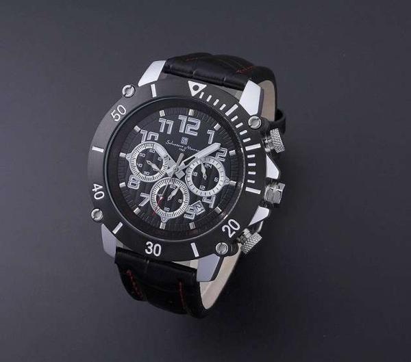 Salvatore MarraアルミニウムMIXクロノグラフ腕時計 https://t.co/xhSe1QAxra https://t.co/rmCF22LpKU